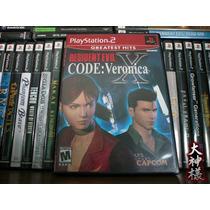 Ps2 Resident Evil Code: Veronica X -gh- (usado)