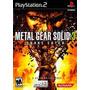 Metal Gear Solid 3 Snake Eater Ps2 En Idiomas Ingles.