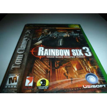 X-box Rainbow Six 3 Squad Based Counter Terror X-box 360