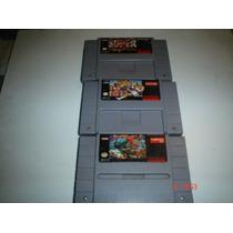 Super Nintendo Trilogia Street Figther Ii