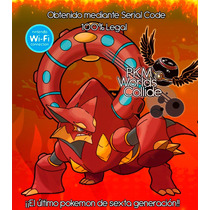 Pokémon Volcanion De Evento + Hoopa + Diance Para Or,as,x,y