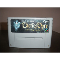 Cartucho Tactics Ogre Super Famicom Japones Snes