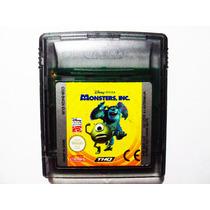 Monster Inc En Español Gbc - Nintendo Gameboy Color Europeo