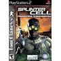 Tom Clancy Splinter Cell Pandora Tomorrow Ps2