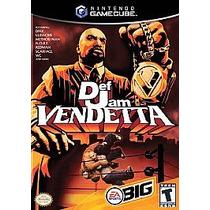 Def Jam Vendetta Game Cube Wii