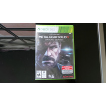 Metal Gear Solid 5 Xbox 360