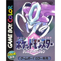 Pokemon Cristal Game Boy Color Japones