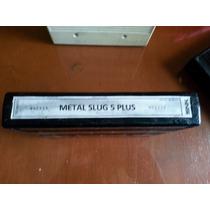 Metal Slug 5 Plus Neo Geo Cartucho Arcade 2 X 1
