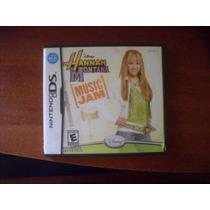 Juego Hannah Montana Music Jam Para Nintendo Ds Poco Uso