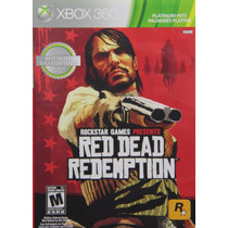 Red Dead Redemption Nuevo Sellado Xbox 360