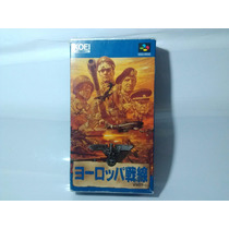 Operation Europe Path To Victory 1939-45 Super Famicom Snes