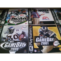 Pack 19 Juegos Play1, Baseball, Basketball, Nfl Ps1