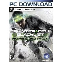 Splinter Cell Blacklist De Tom Clancy: Paquete De La Patria