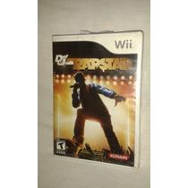 Def Jam Rapstar Para Nintendo Wii Nuevo Sellado De Fábrica
