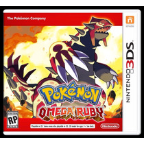 ® Pokemon Omega Ruby Para 3ds ®