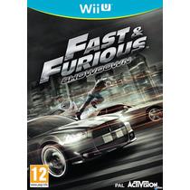 Rapido Y Furioso Showdown Nintendo Wii U Nuevo Sellado