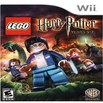 Lego Harry Potter Años 5 Al 7 Nintendo Wii Nuevo Sellado