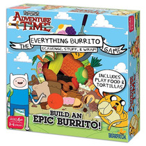 Adventure Time Todo Burrito De Juego