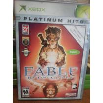 Un Juego Xbox Clasico Titulo Fable