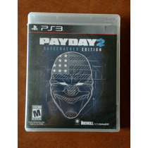 Pay Day 2 Safecracker Edition Ps3