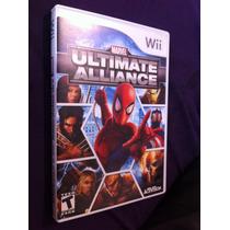Marvel Ultimate Alliance Buen Estado Wii Spider-man