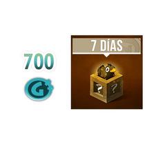 Dofus: 10 Códigos X 700g O X Pack De Abono 7 Días