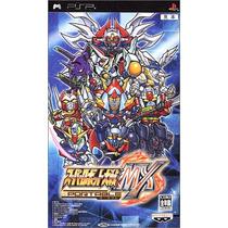 Super Robot Wars Mx Portable Psp Japones