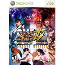 Street Fighter Iv Arcade Xbox 360 Videojuego Sellado Nuevo