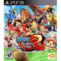 One Piece Unlimited Red Y Pirate Warrios 3 En 1 Ps3 Zaffron