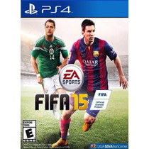 Fifa Soccer 2015 Football Futbol Ps4 Play Station Videojuego