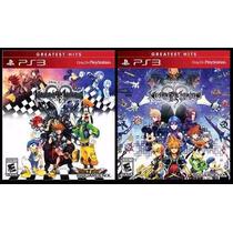Kingdom Hearts 1.5 Hd + 2.5 Hd Remix Collection Ps3 Nuevo