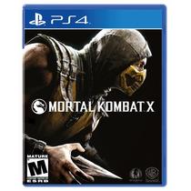 Mortal Kombat X Para Ps4 Fisico Nuevo Sellado