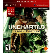 Uncharted El Tesoro De Drake (drakes´s Fortune) Ps3