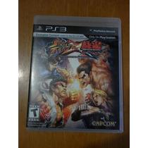 Street Fighter X Tekken - Para Play Station 3