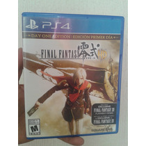 Final Fantasy Type-0 Hd Seminuevo Para Ps4
