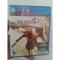 Final Fantasy Type-0 Hd Seminuevo Para Ps4