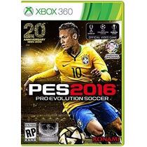 Pro Evolution Soccer 2016 Pes 16 Para Xbox 360