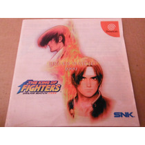 Sega Dreamcast King Of Fighters 99 Dream Match Japon Anime