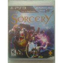 Ps3 Move Sorcery $230 Pesos - Seminuevo - Vendo O Cambio