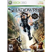 Shadowrun Shadow Run Xbox 360 Nuevo Blakhelmet E