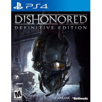Dishonored Definitive Edition - Playstation 4, Ps4 [físico]