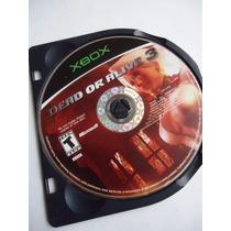 Dead Or Alive 3 Para Xbox Primera Generacion Solo Disco Doa