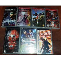 Metal Gears Solid, God Of War, Castlevania, Pes 2009 Psp