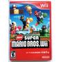 New Super Mario Bros Wii Con Portada Reimpresa