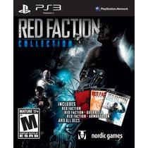 Ps3 - Red Faction Collection - Nuevo Y Sellado - Ag