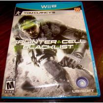 Videojuego Tom Clancys Splinter Cell Blacklist Wii U Nuevo