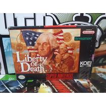 Liberty Or Death Snes