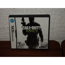 Nintendo Ds Call Of Duty Mw3 Defiance En Caja