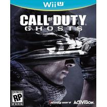 Call Of Duty Ghosts Cod Nintendo Wii U Nuevo Y Sellado