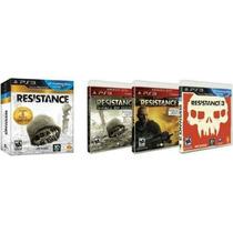 Resistance Collection Ps3 Nuevo Sellado Disco Fisico